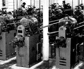 Screw production, 1965