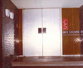 Company entrance, 1970